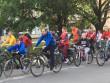 Вулицями Ужгорода проїхались близько сотні велосипедистів