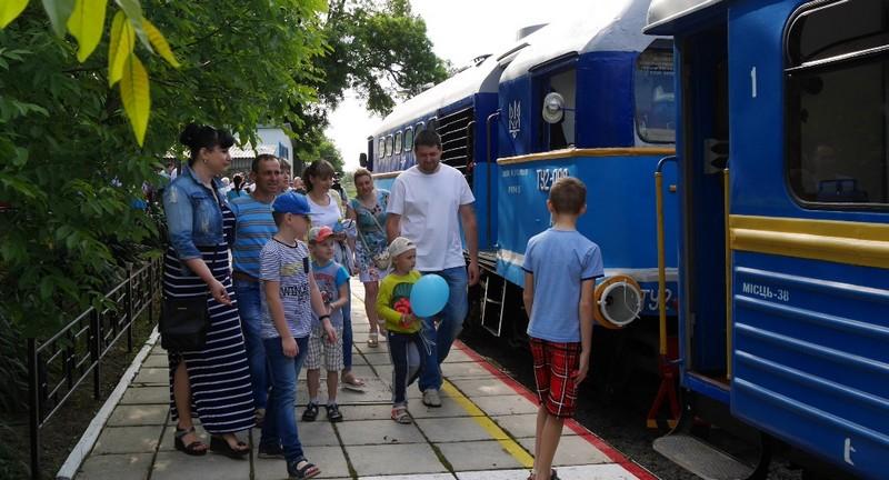 У суботу, 4 травня, в Ужгороді запрацює дитяча залізниця
