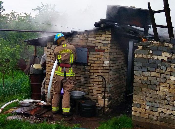 У селі Мала Копаня, що на Виноградівщині, сталася пожежа