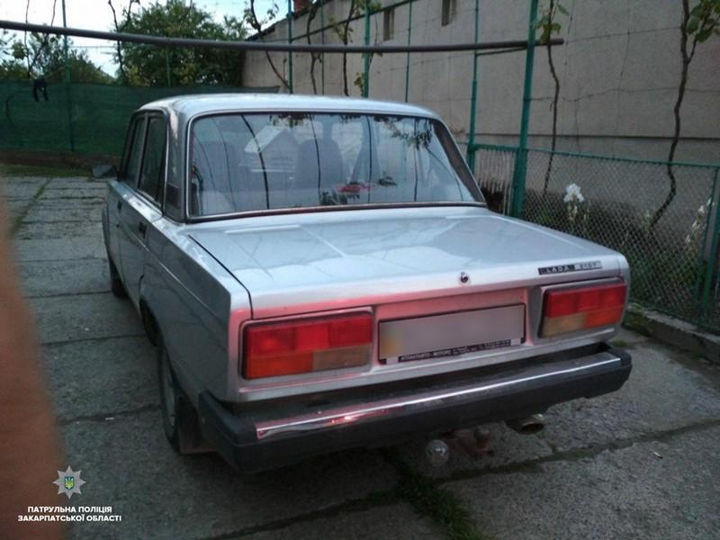 Алкогольний рекордсмен: в Ужгороді у водія виявили перевищення норми алкоголю більш, ніж у 16 разів