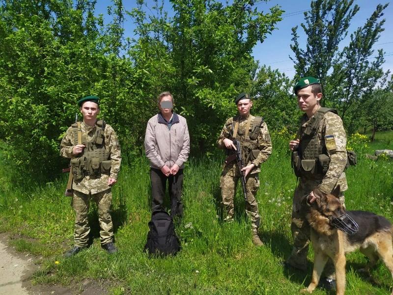 На Закарпатті поблизу кордону з ЄС прикордонники затримали росіянина