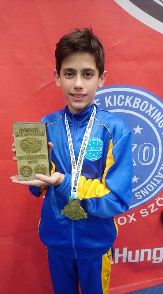 Юний закарпатець став володарем Кубку світу з кікбоксингу