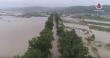 Масштаби підтоплення траси Мукачево-Рогатин показали з висоти
