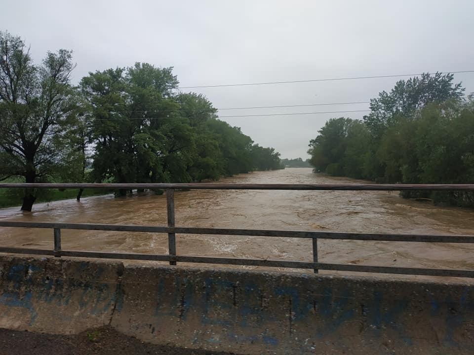 У селищах Чинадієво та Кольчино можливі підтоплення