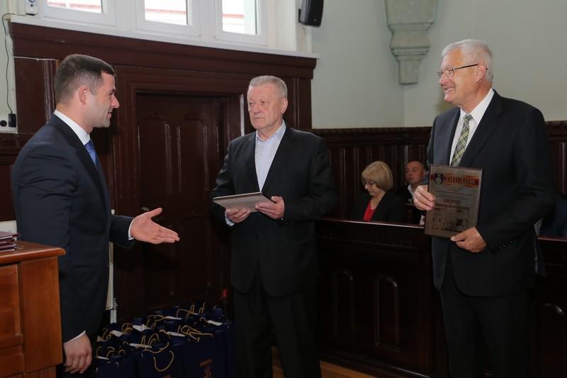 Золтан Ленд'єл та Михайло Липка стали почесними громадянами Мукачева