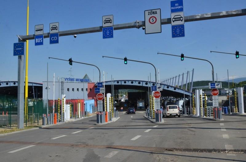 Із червня на КПП Вишнє Немецьке на території Словаччини розпочнеться реконструкція