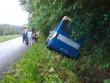 На Закарпатті сталися дві аварії за участі автобусів