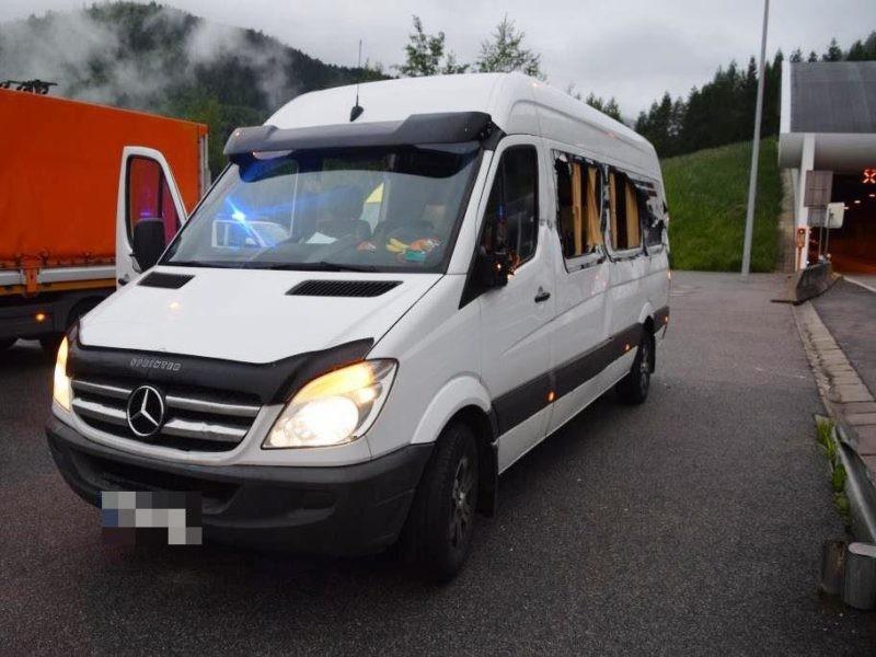Мікроавтобус із українськими заробітчанами потрапив у ДТП в Словаччині