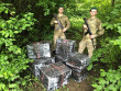 Контрабандисти покинули пакунки з цигарками, тікаючи від прикордонників