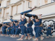 Як у центрі Ужгорода сьогодні танцювали