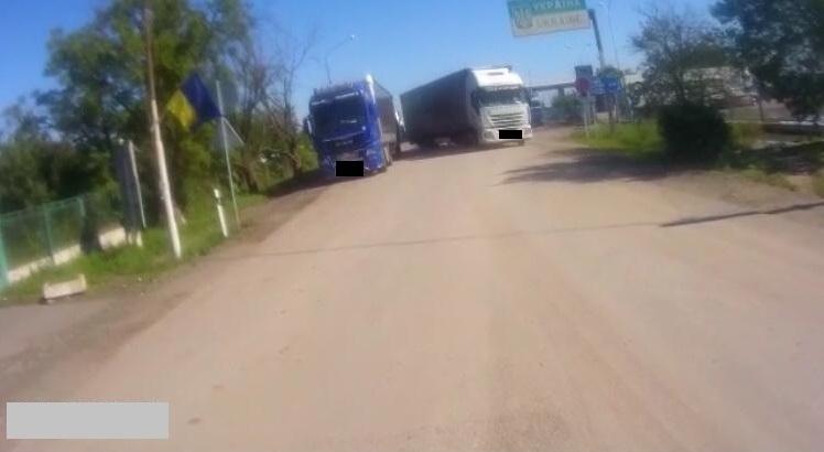 """Нахабний українець наламав дров на КПП """"Дякове"""", що на Закарпатті"""