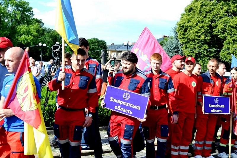 В Ужгороді стартували Всеукраїнські змагання бригад екстреної медичної допомоги Закарпатські медичні ралі -2019