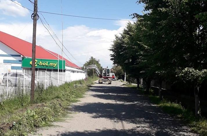 У Берегові ремонтують вулицю  Гелеї Каттона