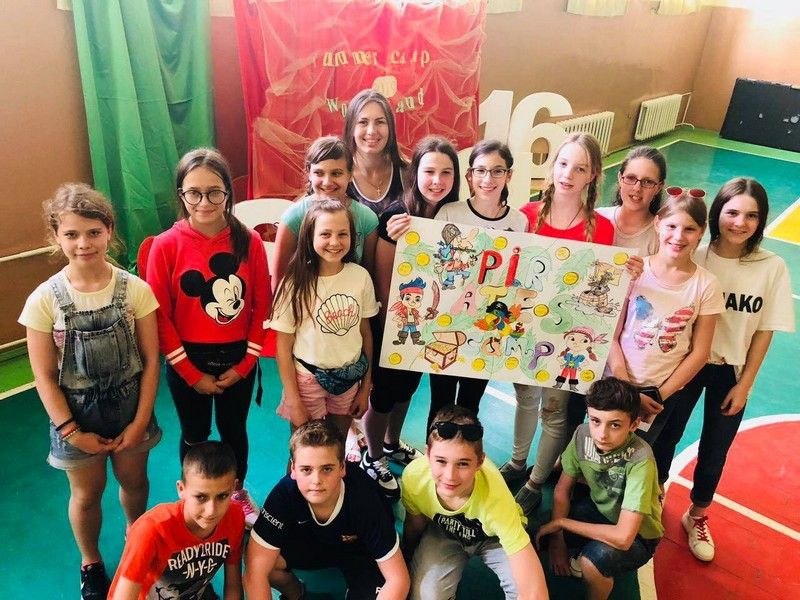 У Мукачеві почали діяти літні табори для дітей