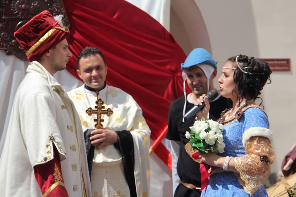 15 червня в замку Паланок відбудеться щорічна реконструкція весілля Ілони Зріні та Імре Текелі