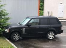 "На Закарпаття намагались незаконно ввезти авто марки ""Land Rover Range Rover"""