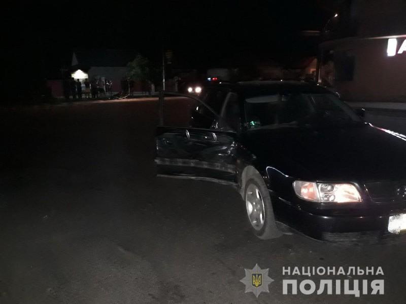 8 червня у Виноградові два 20-річні хлопці потрапили в аварію