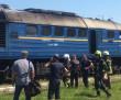 У Тячеві загорівся потяг