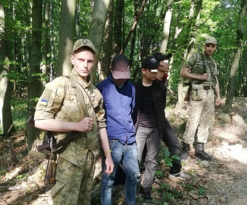 На Закарпатті поблизу кордону зі Словаччиною затримали нелегалів із В'єтнаму