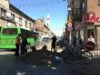У Мукачеві триває ремонт дорожнього покриття у центральній частині міста