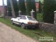 Авто опинилося у кюветі: молодий чоловік скоїв ДТП