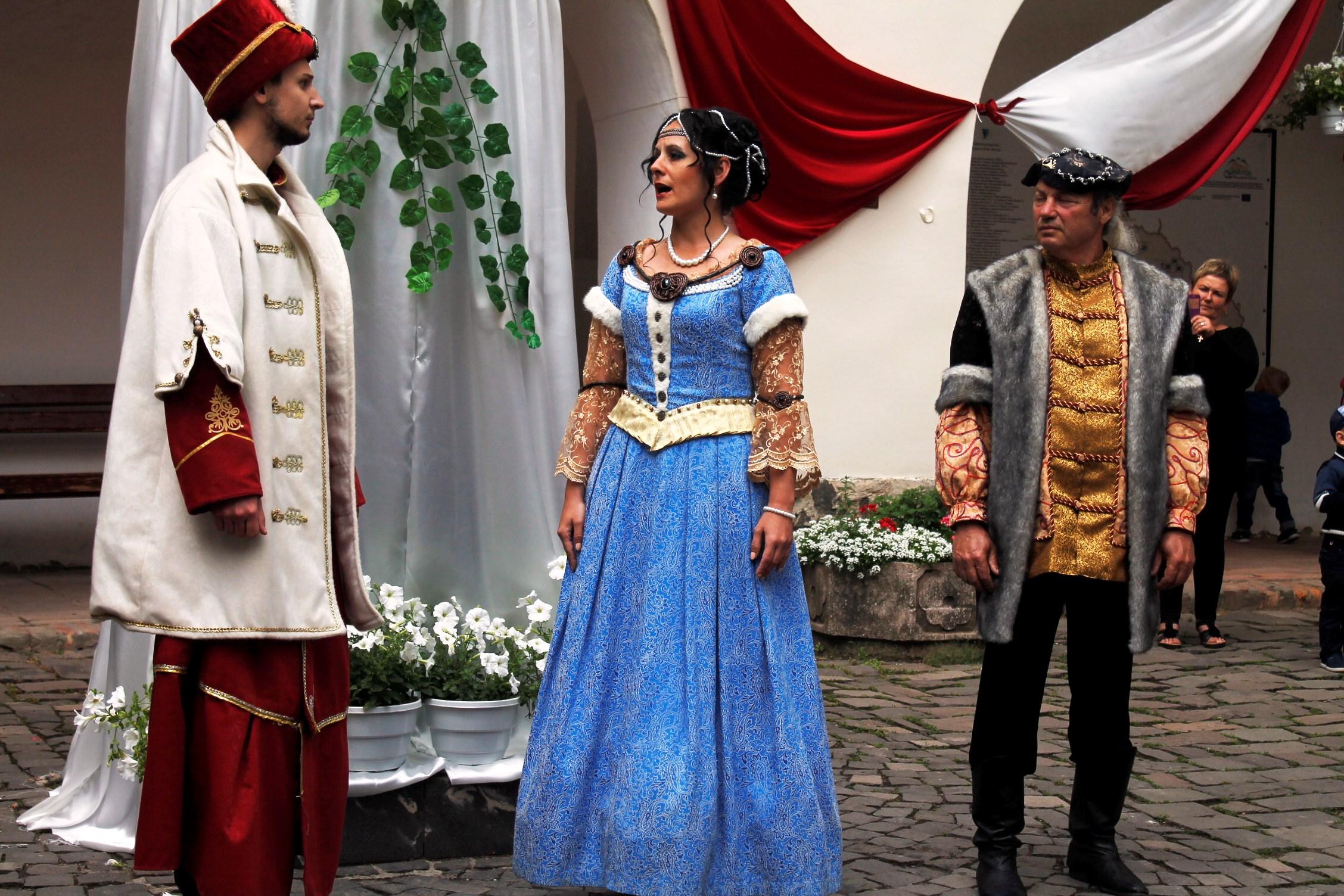 Вже завтра  «Паланку» проведуть історичну реконструкцію весілля Зріні та Текелі