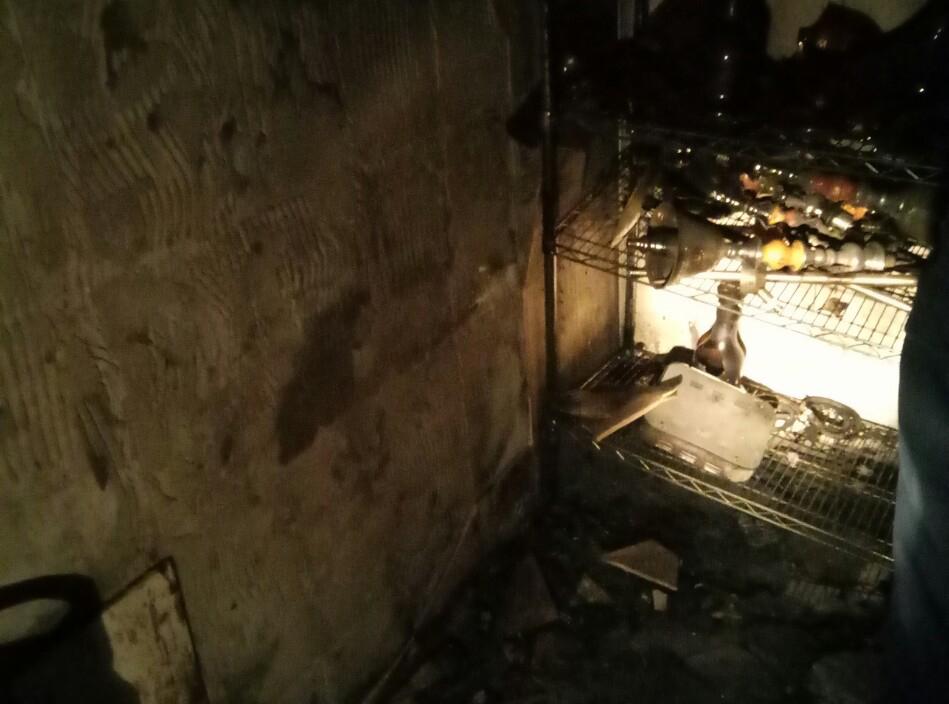 Пожежа в кафе в Ужгороді: врятовано жінку