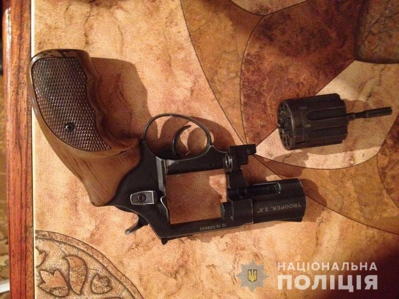 У чоловіка з села Нове Давидково, що на Мукачівщині, знайшли зброю