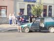 Авто відкинуло на тротуар: в обласному центрі сталася аварія