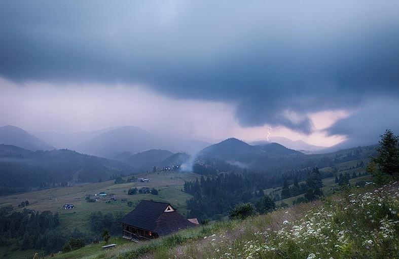 У гірських районах Закарпаття сьогодні очікують грози