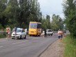 Шкільний автобус потрапив у аварію