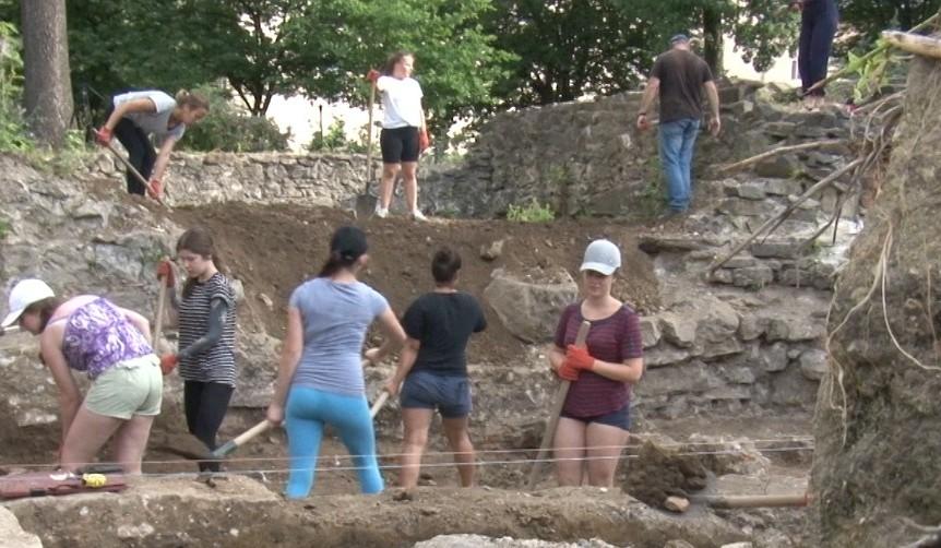 Під час розкопок знайшли монету 16 століття