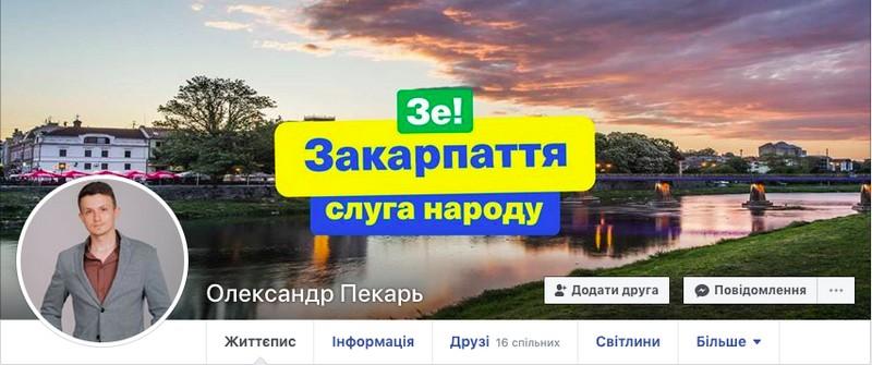 """Кандидат по 68 округу від партії """"Слуга народу"""" Олександр Пекарь в своєму резюме зробив понад 10 помилок"""