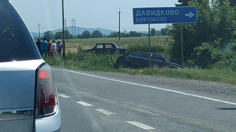 Оприлюднено відео з місця аварії на трасі Київ-Чоп біля села Старе Давидково