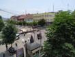 У центрі Мукачева триває підготовка до урочистого параду випускників