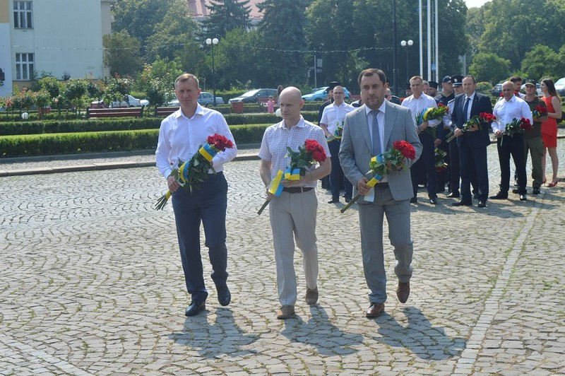 В Ужгороді відзначили День Конституції