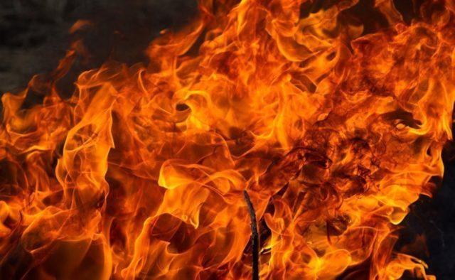 На Мукачівщині вночі сталася пожежа