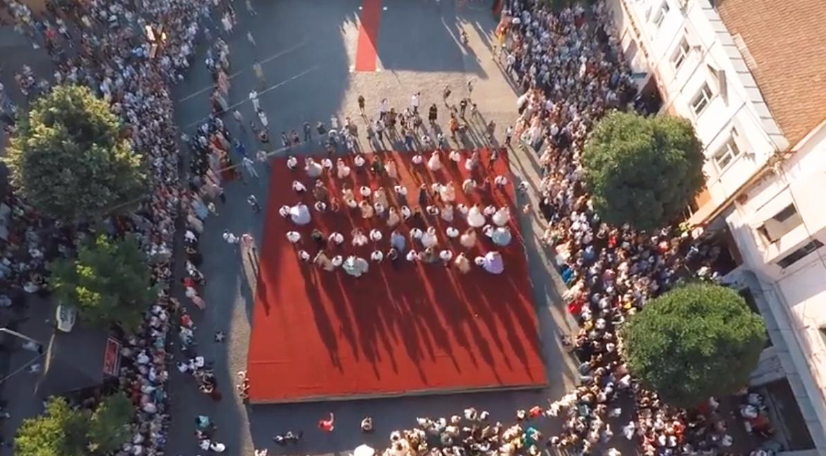 Відео з параду випускників у Мукачеві 2019