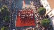 Парад випускників у Мукачеві: відео яскравих моментів