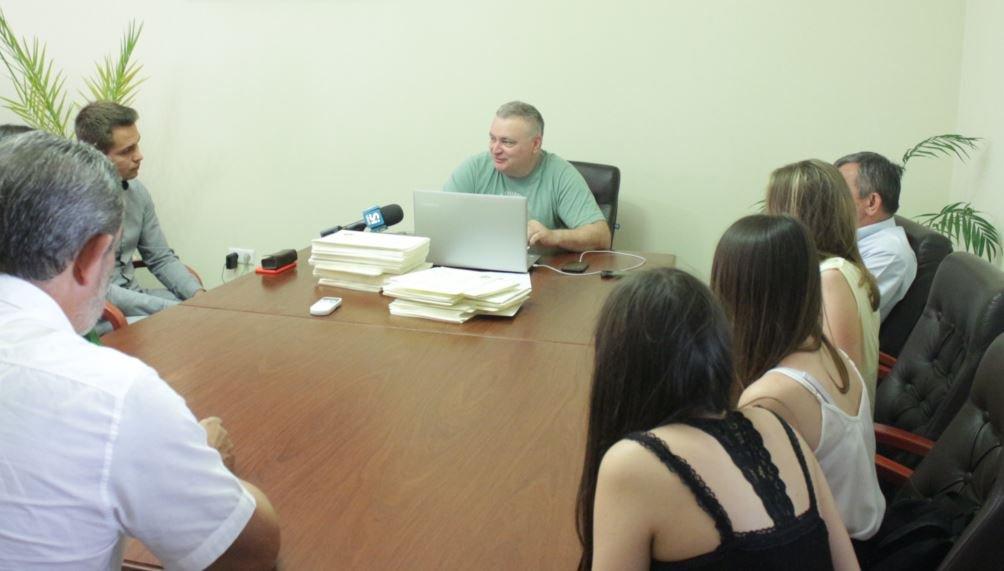 Ректор УжНУ зустрівся із студентами-медиками щодо іспиту IFOM
