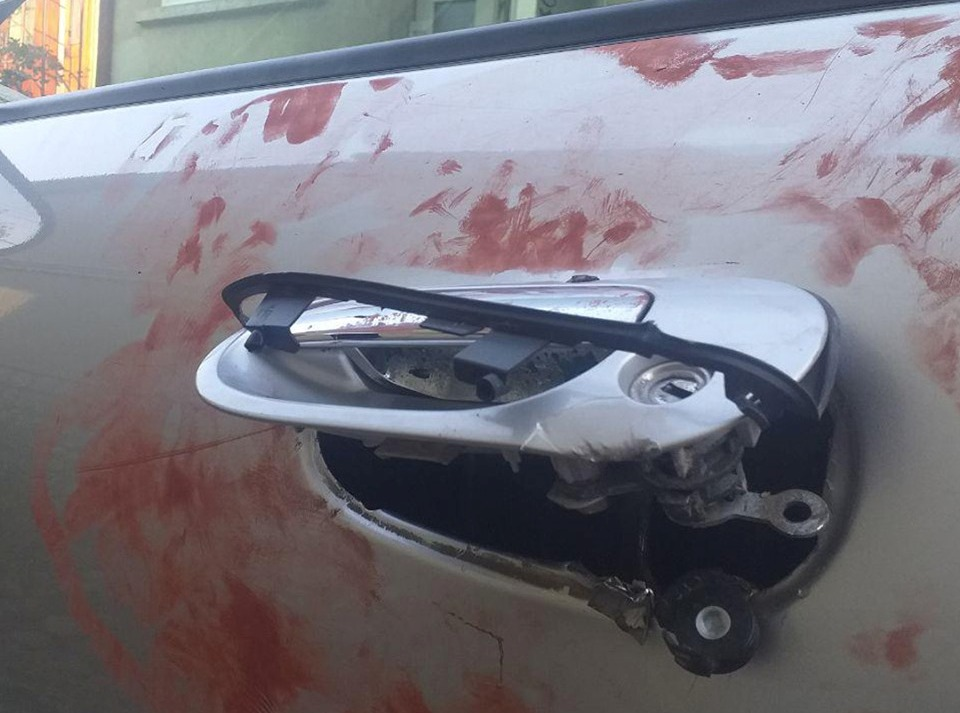 У Мукачеві чоловік намагався пограбувати автомобіль