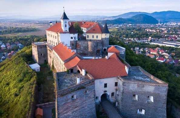 Замок Паланок став найпопулярнішим місцем відвідин у Мукачеві