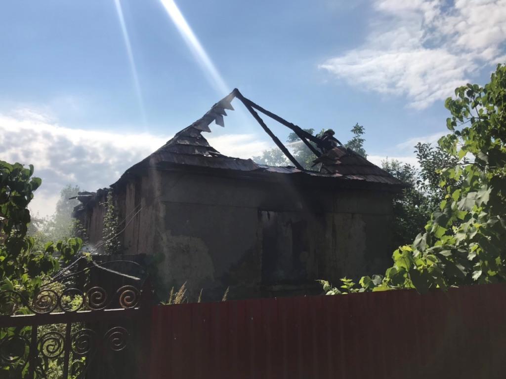 У селі Страбичево під час пожежі загинула жінка