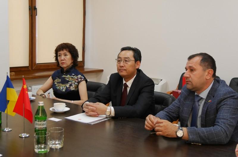 В Ужгород завітали гості із Китаю