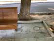 До приїзду Зеленського в Ужгороді прибрали сміття разом з урнами