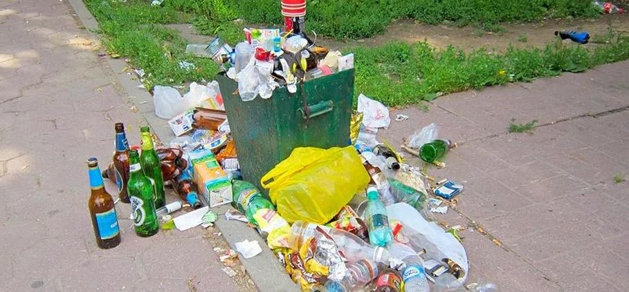 В Україні хочуть ввести нові штрафи за сміття