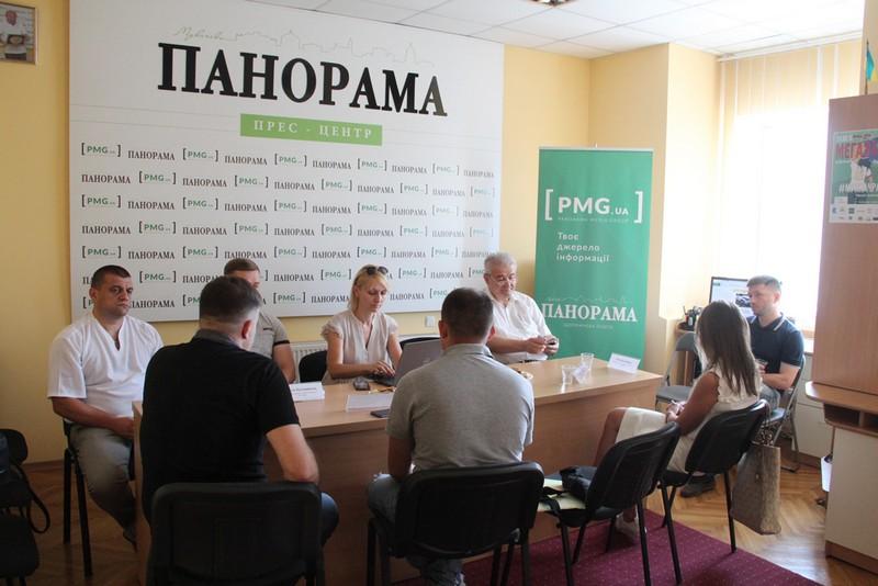 Парламентські вибори 2019: у прес-центрі Панорама в Мукачеві зібралися кандидати по округу №69