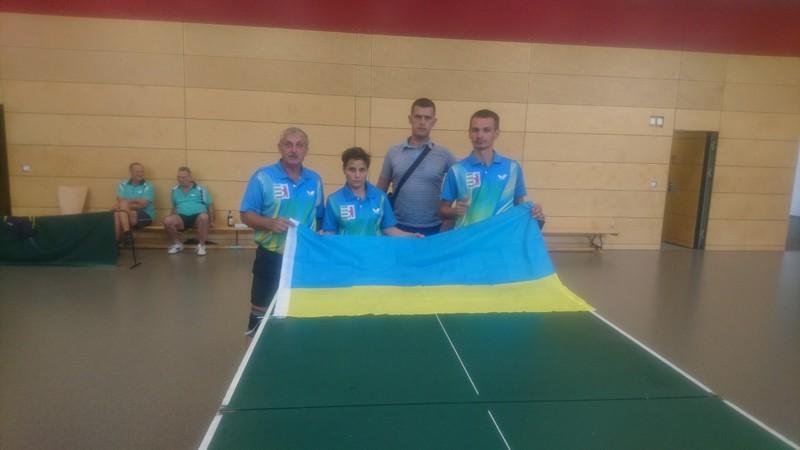 Закарпатські параолімпійці зайняли третє командне місце на міжнародному турнірі з настільного тенісу в Німеччині
