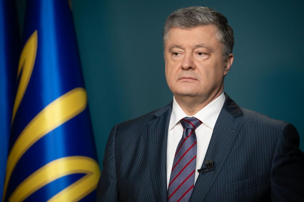 Лідер партії Європейська Солідарність Петро Порошенко прогулявся центром Мукачева