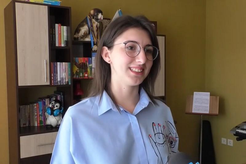 Валерія Кашмель з Великого Березного має 200 балів за ЗНО з біології